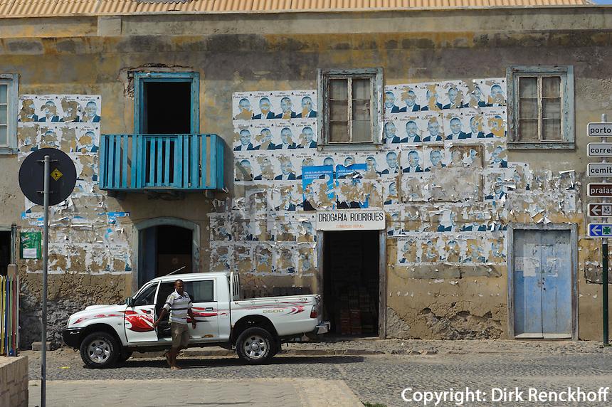 Largo Santa Isabel in Sal Rei, Boa Vista, Kapverden, Afrika