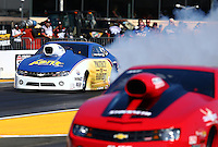 Jul. 26, 2013; Sonoma, CA, USA: NHRA pro stock driver Rodger Brogdon during qualifying for the Sonoma Nationals at Sonoma Raceway. Mandatory Credit: Mark J. Rebilas-