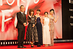 Movie, The Low Life, Takahisa Zeze, Ayano Moriguchi, Mana Sakura, Kokone Sasaki, Aina Yamada appears on the opening red carpet for The 30th Tokyo International Film Festival in Roppongi on October 25th, 2017, in Tokyo, Japan. The festival runs from October 25th to November 3rd at venues in Tokyo. (Photo by Michael Steinebach/AFLO)
