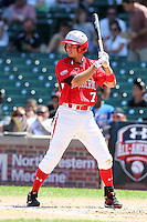 Second baseman Connor Castellano (7) during the 2010 Under Armour All-American Game powered by Baseball Factory at Wrigley Field in Chicago, New York;  August 14, 2010.  Photo By Mike Janes/Four Seam Images