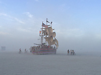 Burning Man, Carnival of Mirrors. Black Rock Desert, Nevada. Alison Wright.