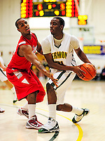 21 January 2010: University of Vermont Catamount guard Garvey Young, a Sophomore from Washington, DC, in action during a game against the Stony Brook University Seawolves at Patrick Gymnasium in Burlington, Vermont. The Catamounts fell to the Seawolves 65-60 in the America East matchup. Mandatory Credit: Ed Wolfstein Photo