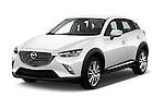 2015 Mazda CX-5 Skycruise 5 Door Suv Angular Front stock photos of front three quarter view