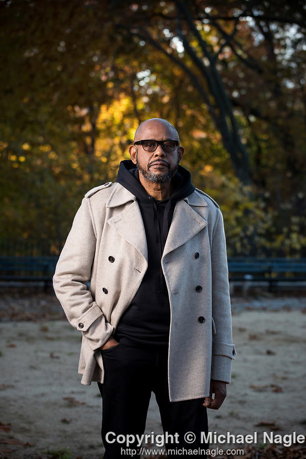 NEW YORK, NY -- NOVEMBER 9, 2020:  Actor Forest Whitaker poses for a portrait in Central Park on November 9, 2020 in New York City.  PHOTOGRAPH BY MICHAEL NAGLE