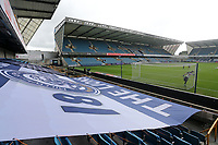 A general view of the ground ahead of Millwall vs Middlesbrough, Sky Bet EFL Championship Football at The Den on 8th July 2020