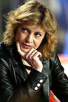 """Roma 29/3/2004 MCS. <br /> L'attrice Margherita Buy, protagonista del film di Sergio Rubini, """"L'amore ritorna"""". <br /> Foto Andrea Staccioli Insidefoto"""