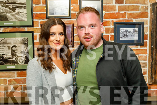 Jacinta O'Connor and Adam Pierce from Ballyduff enjoying the evening in the Mall Tavern on Saturday.