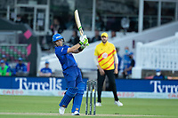 Josh Inglis of London Spirit pulls to the leg side boundary during London Spirit Men vs Trent Rockets Men, The Hundred Cricket at Lord's Cricket Ground on 29th July 2021