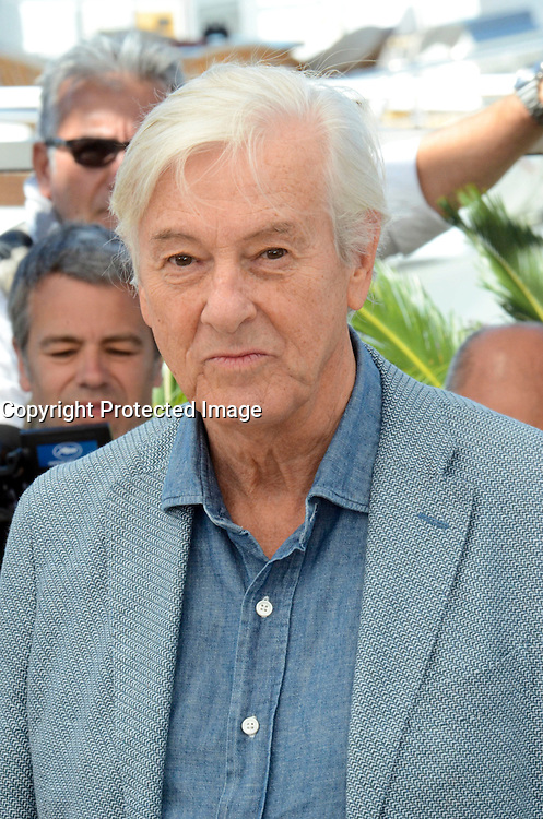 Paul Verhoeven attends the 'Elle' Photocall during the 69th annual Cannes Film Festival at the Palais des Festivals on May 21, 2016 in Cannes, France.
