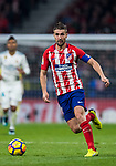Gabriel Fernandez Arenas, Gabi, of Atletico de Madrid in action during the La Liga 2017-18 match between Atletico de Madrid and Real Madrid at Wanda Metropolitano  on November 18 2017 in Madrid, Spain. Photo by Diego Gonzalez / Power Sport Images