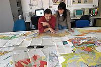 - Università Milano Bicocca, facoltà di Scienze Ambientali, laboratori di cartografia digitale....- Milan Bicocca University, environmental Sciences department, laboratories of digital cartography
