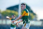 Seán O'Shea, Kerry, during the Munster Football Championship game between Kerry and Clare at Fitzgerald Stadium, Killarney on Saturday.