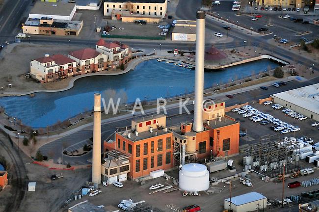 Downtown Pueblo power plant