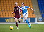 St Johnstone v Stenhousemuir…21.01.17  McDiarmid Park  Scottish Cup<br />Alan Cook and Keith Watson<br />Picture by Graeme Hart.<br />Copyright Perthshire Picture Agency<br />Tel: 01738 623350  Mobile: 07990 594431