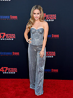 "LOS ANGELES, USA. August 14, 2019: Brec Bassinger at the premiere of ""47 Meters Down: Uncaged"" at the Regency Village Theatre.<br /> Picture: Paul Smith/Featureflash"
