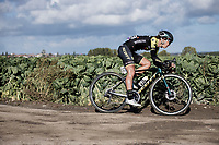 Janneke Ensing (NED/Mitchelton-Scott)<br /> <br /> 9th Gent-Wevelgem in Flanders Fields 2020<br /> Elite Womens Race (1.WWT)<br /> <br /> One Day Race from Ypres (Ieper) to Wevelgem 141km<br /> <br /> ©kramon
