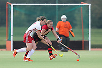 Basildon HC Ladies vs Havering HC Ladies, East Region League Field Hockey at Gloucester Park on 9th October 2021