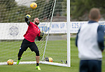 St Johnstone Training…11.08.17<br />Alan Mannus pictured during training this morning ahead of tomorrows game against Motherwell<br />Picture by Graeme Hart.<br />Copyright Perthshire Picture Agency<br />Tel: 01738 623350  Mobile: 07990 594431