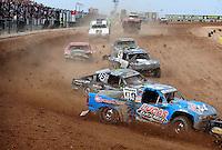 Mar. 19, 2011; Chandler, AZ, USA;  LOORRS pro two driver Robby Woods during round one at Firebird International Raceway. Mandatory Credit: Mark J. Rebilas-US PRESSWIRE