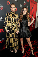 "LOS ANGELES - OCTOBER 26: (L-R) Leslie Grossman and Billie Lourd attend the red carpet event to celebrate 100 episodes of FX's ""American Horror Story"" at Hollywood Forever Cemetery on October 26, 2019 in Los Angeles, California. (Photo by John Salangsang/FX/PictureGroup)"