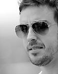 02 Apr 2009, Sepang Circuit, Kuala Lumpur, Malaysia --- ING Renault F1 Team driver Fernando Alonso of Spain during the 2009 Fia Formula One Malasyan Grand Prix at the Sepang circuit near Kuala Lumpur. Photo by Victor Fraile --- Image by © Victor Fraile / The Power of Sport Images