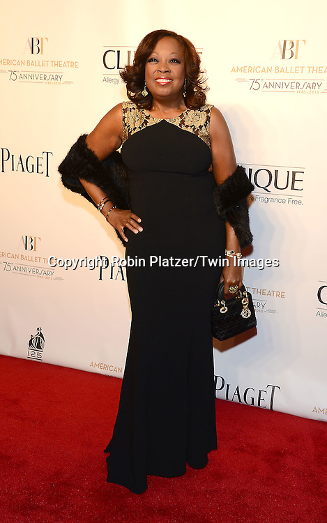 Star Jones attends the Opening Night of American Ballet Theatre 2014 Fall Gala on October 22,2014 at the David Koch Theater at Lincoln Center in New York City. <br /> <br /> photo by Robin Platzer/Twin Images<br />  <br /> phone number 212-935-0770