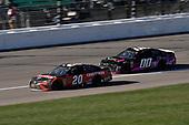 #20: Erik Jones, Joe Gibbs Racing, Toyota Camry Craftsman and #00: Landon Cassill, StarCom Racing, Chevrolet Camaro Share Foundation