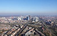 Nederland Den Haag 2020. Binnenstad van Den Haag.  Hoogbouw in het Beatrixkwartier.   Foto Berlinda van Dam / Hollandse Hoogte