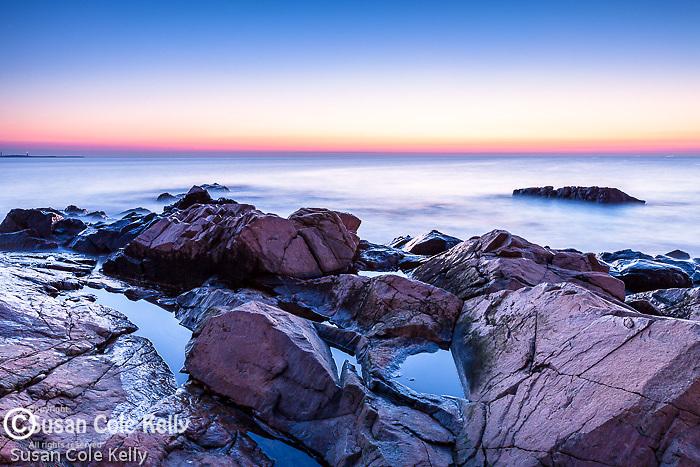 Dawn at Bass Rocks, Gloucester, Massachusetts, USA