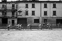 the breakaway group<br /> <br /> 114th Il Lombardia 2020 (1.UWT)<br /> 1 day race from Bergamo to Como (ITA/231km) <br /> <br /> ©kramon