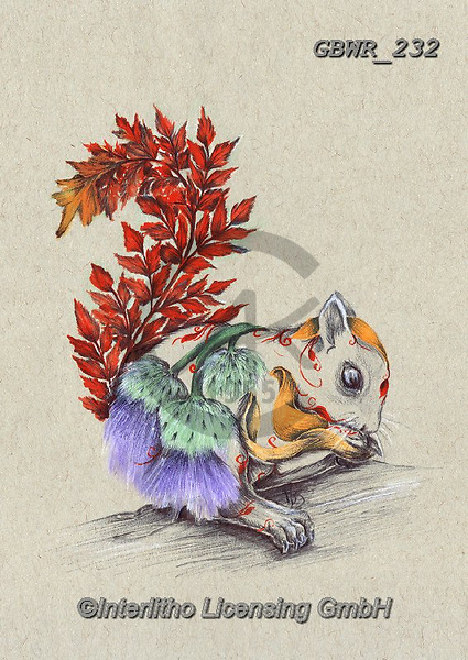 Simon, REALISTIC ANIMALS, REALISTISCHE TIERE, ANIMALES REALISTICOS, innovative, paintings+++++A_KatB_RusticSquirrel,GBWR232,#a#, EVERYDAY