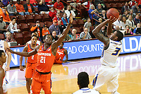 Charleston, SC  November 17, 2017 <br /> Hofstra University vs. Clemson Tigers at the Charleston Classic, TD Arena - Charleston, SC Photo by Al Samuels (Hofstra University)