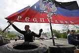 Kramatorsk kontrolliert von prorussischen Separatisten