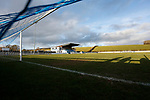 General view inside Frenchfield Park. Penrith AFC V Hebburn Town, Northern League Division One, 22nd December 2018. Penrith are the only Cumbrian team in the Northern League. All the other teams are based across the Pennines in the north east.<br />