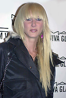 New York City 1-12-2004<br /> Kimberley Stewart at the party for the<br /> New MAC Viva Glam V Lipstick<br /> at the Ace Gallery in lower manhattan.<br /> Photo by John Roca/PHOTOlink
