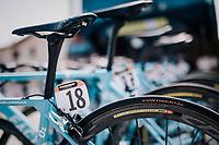 Team AG2R-La Mondiale bikes at the race start <br /> <br /> stage 14 San Vito al Tagliamento – Monte Zoncolan (186 km)<br /> 101th Giro d'Italia 2018