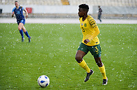 20190227 - LARNACA , CYPRUS : South African defender Nothando Vilakazi pictured during a women's soccer game between the South African Banyana Banyana and Finland , on Wednesday 27 February 2019 at the GSZ Stadium in Larnaca , Cyprus . This is the first game in group A for both teams during the Cyprus Womens Cup 2019 , a prestigious women soccer tournament as a preparation on the Uefa Women's Euro 2021 qualification duels and the Fifa World Cup France 2019. PHOTO SPORTPIX.BE | STIJN AUDOOREN