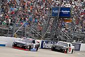 #19: Brandon Jones, Joe Gibbs Racing, Toyota Camry Toyota XYO Networks and #18: Noah Gragson, Joe Gibbs Racing, Toyota Camry Switch