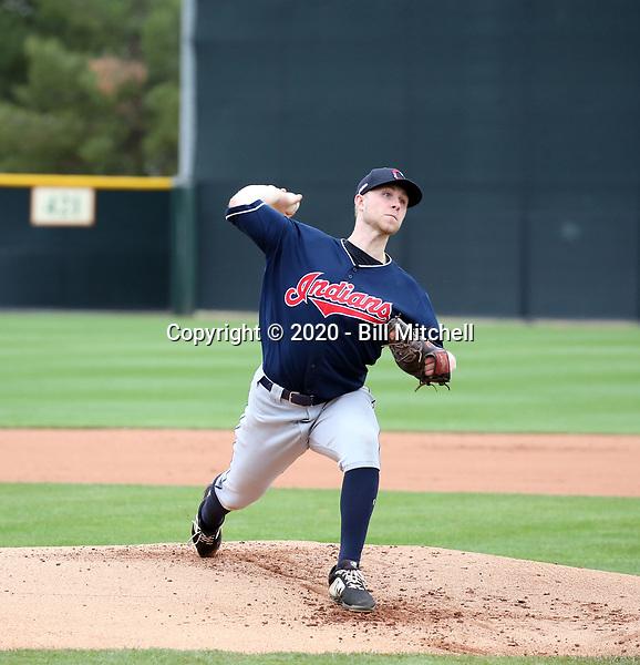 Shane McCarthy - Cleveland Indians 2020 spring training (Bill Mitchell)