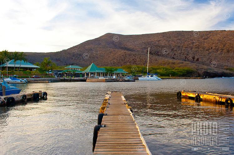 Manele Small Boat Harbor, Lana'i