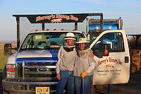 Bob Harvey and his daughter Dee.