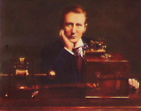 BNPS.co.uk (01202 558833)<br /> Pic: BNPS<br /> <br /> Pictured: Wireless telegraphy innovater Guglielmo Marconi who used the Haven Hotel.<br /> <br /> Over 6,200 letters of objection have been lodged against controversial plans to replace a historic hotel with a 'soulless' block of flats at a millionaire's playground.<br /> <br /> The well-heeled residents of Sandbanks are up in arms about the £250million development which would see the Haven Hotel at the entrance to Poole Harbour in Dorset bulldozed.<br /> <br /> The 141-year-old building is where engineer Guglielmo Marconi established the world's first wireless communications. Under the plans, it would be replaced with a six-storey block of 119 luxury apartments.