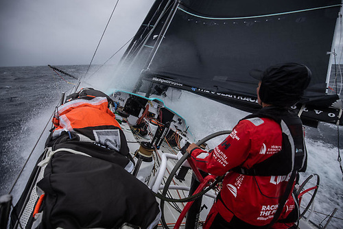 On board with Mirpuri Foundation Racing Team during Leg 1 from Lorient to Cascais
