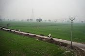 Overview of Basantpur Sainthly village in Ghaziabad, Uttar Pradesh, India.