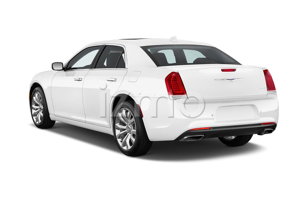 Car pictures of rear three quarter view of 2017 Chrysler 300 C 4 Door Sedan Angular Rear