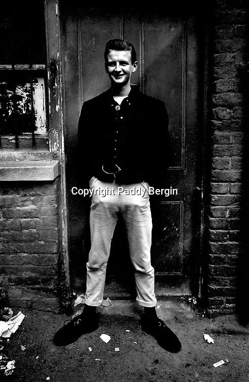 Teddy Boy<br /> <br /> Stock Photo by Paddy Bergin
