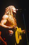 Various live photographs of the rock band, Steelheart