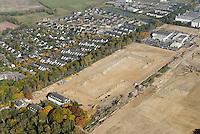 Depot: EUROPA, DEUTSCHLAND, SCHLESWIG- HOLSTEIN, GLINDE, (GERMANY), 11.10.2008: Depot Gelaende in Glinde, Bundeswehr, Umwandlung von Kaserne. Wohnraum, Baugrund, Flaeche. Bebaung, Bebauungsplan, Umwitmung,  Gebaeude, freie Flaeche, Freiflaeche, Platz , Raum, Rueckbau, An der Alten Wache, B Plan 40 a,  Investition, Luftbild, Luftansicht, Luftaufnahme, .. c o p y r i g h t : A U F W I N D - L U F T B I L D E R . de.G e r t r u d - B a e u m e r - S t i e g 1 0 2, 2 1 0 3 5 H a m b u r g , G e r m a n y P h o n e + 4 9 (0) 1 7 1 - 6 8 6 6 0 6 9 E m a i l H w e i 1 @ a o l . c o m w w w . a u f w i n d - l u f t b i l d e r . d e.K o n t o : P o s t b a n k H a m b u r g .B l z : 2 0 0 1 0 0 2 0  K o n t o : 5 8 3 6 5 7 2 0 9.C o p y r i g h t n u r f u e r j o u r n a l i s t i s c h Z w e c k e, keine P e r s o e n l i c h ke i t s r e c h t e v o r h a n d e n, V e r o e f f e n t l i c h u n g n u r m i t H o n o r a r n a c h M F M, N a m e n s n e n n u n g u n d B e l e g e x e m p l a r !.