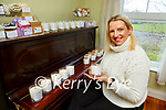 Claire Lyne from  Solzie Soaps Killarney who has started making scented candles