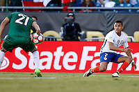 Action photo during the match Chile vs Bolivia at Gillette Stadium Copa America Centenario 2016. ---Foto  de accion durante el partido Chile vs Bolivia, En el Estadio Gillette, Partido Correspondiante al Grupo - D -  de la Copa America Centenario USA 2016, en la foto: Alexis Sanchez<br /> <br /> --- 10/06/2016/MEXSPORT/PHOTOSPORT/ Andres Pina